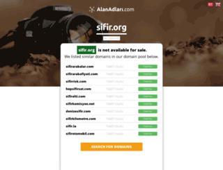 sifir.org screenshot
