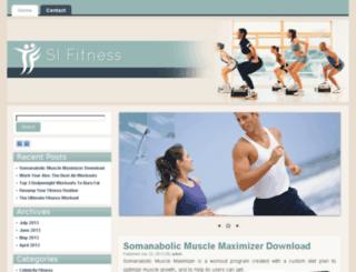 sifitness.org screenshot