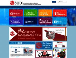 sifoweb.it screenshot