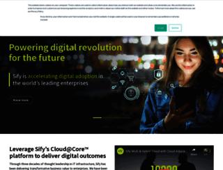 sifycorp.com screenshot