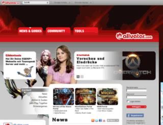 sig.allvatar.com screenshot