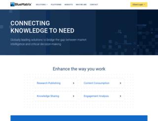 sig.bluematrix.com screenshot