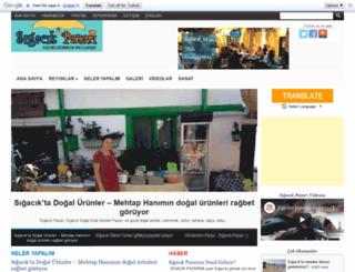 sigacikpazari.com screenshot