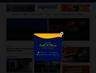 sigamais.com screenshot