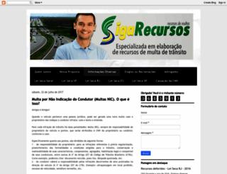 sigarecursos.com.br screenshot
