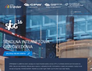 sigg.gpw.com.pl screenshot
