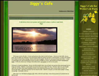 siggyscafe.com screenshot