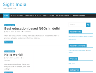 sightindia.com screenshot
