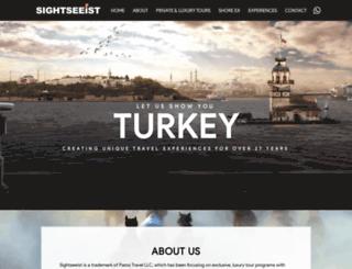 sightseeist.com screenshot