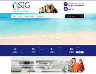 sigimoveisnet.com.br screenshot