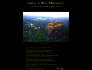 sigiriya.org screenshot