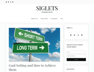 siglets.com screenshot