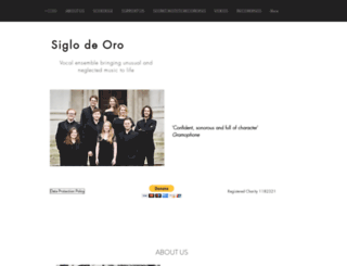 siglodeoro.co.uk screenshot