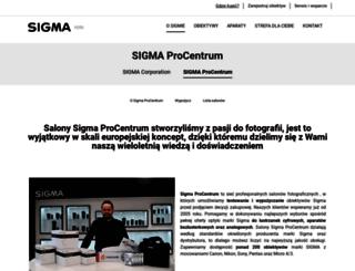 sigma-procentrum.pl screenshot