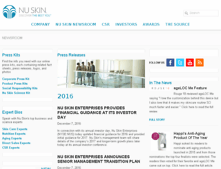 sigma.mynuskin.com screenshot
