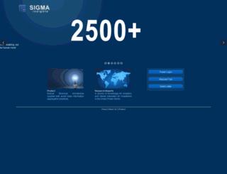 sigmainsights.com screenshot