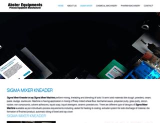 sigmamixerkneader.com screenshot