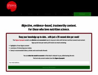sigmanutrition.com screenshot