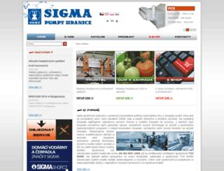 sigmapumpy.com screenshot