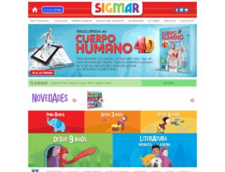 sigmar.com.ar screenshot