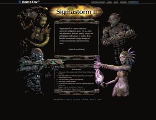 sigmastorm2.com screenshot