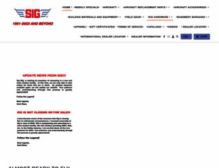sigmfg.com screenshot