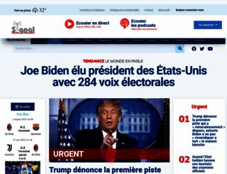 signalfmhaiti.com screenshot