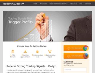 signalsxp.com screenshot