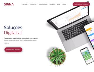 signashop.com.br screenshot