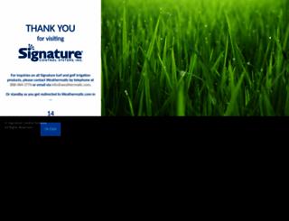 signaturecontrolsystems.com screenshot