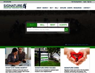 signaturepremier.com screenshot