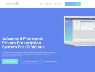 signaturerx.com screenshot