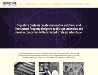 signaturesystemsllc.azurewebsites.net screenshot