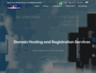 signdomains.com screenshot