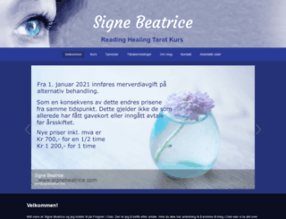 signebeatrice.com screenshot