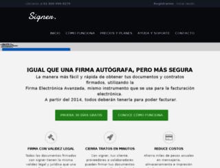 signer.mx screenshot