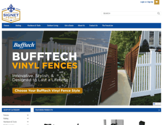 signetfence.com screenshot