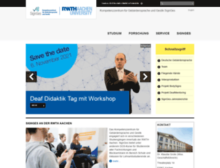 signges.rwth-aachen.de screenshot