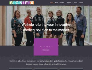 signifix.com screenshot