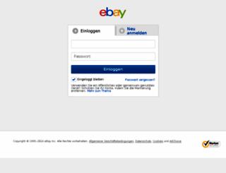 signin.ebay.at screenshot