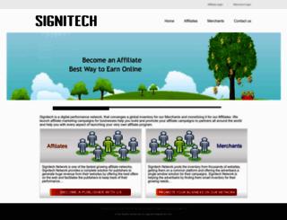 signitechnetwork.com screenshot