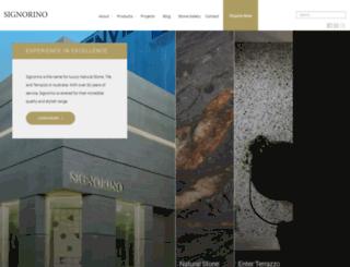 signorino.com.au screenshot