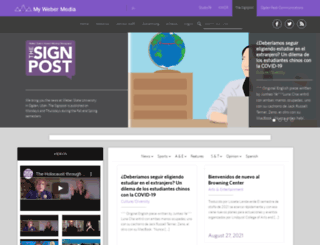 signpost.mywebermedia.com screenshot