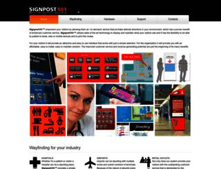 signpost101.com screenshot