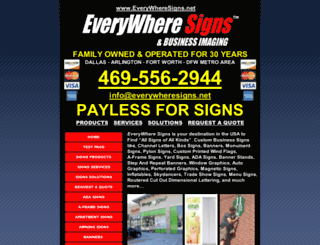 signsarlington.com screenshot