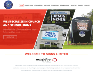 signsltd.com screenshot