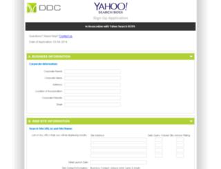 signup.ddc.com screenshot