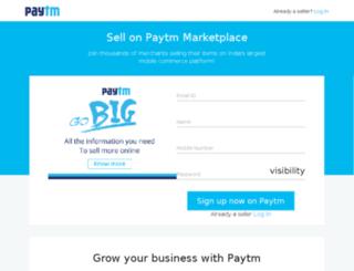 signup.paytm.com screenshot