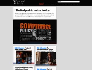 signup.personalliberty.com screenshot