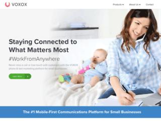 signup.voxox.com screenshot